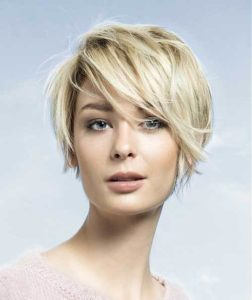 Grown Out Pixie Cut for Fine hair
