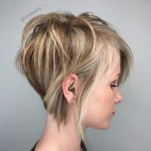 Inverted Bob for Thin Hair