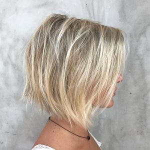 Textured Bob for Thin Hair