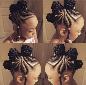 beads and braids cornrow