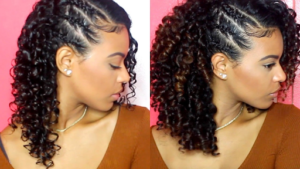 Side braided wash and go