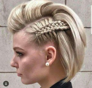 Basket Weave Braid for Short Hair