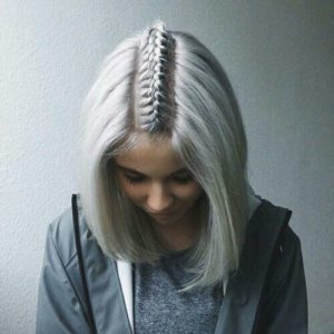 Dutch Braided Parting
