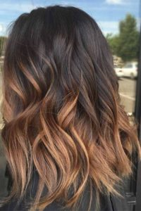 Toasted Cinnamon and Caramel Ombre