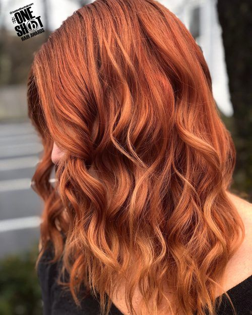 Cinnamon Hair Color Trend 30 Of The Best Cinnamon Hairstyles