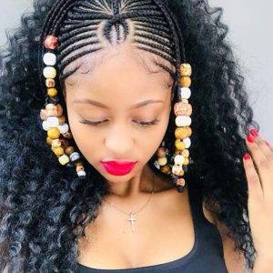 Crown african braid