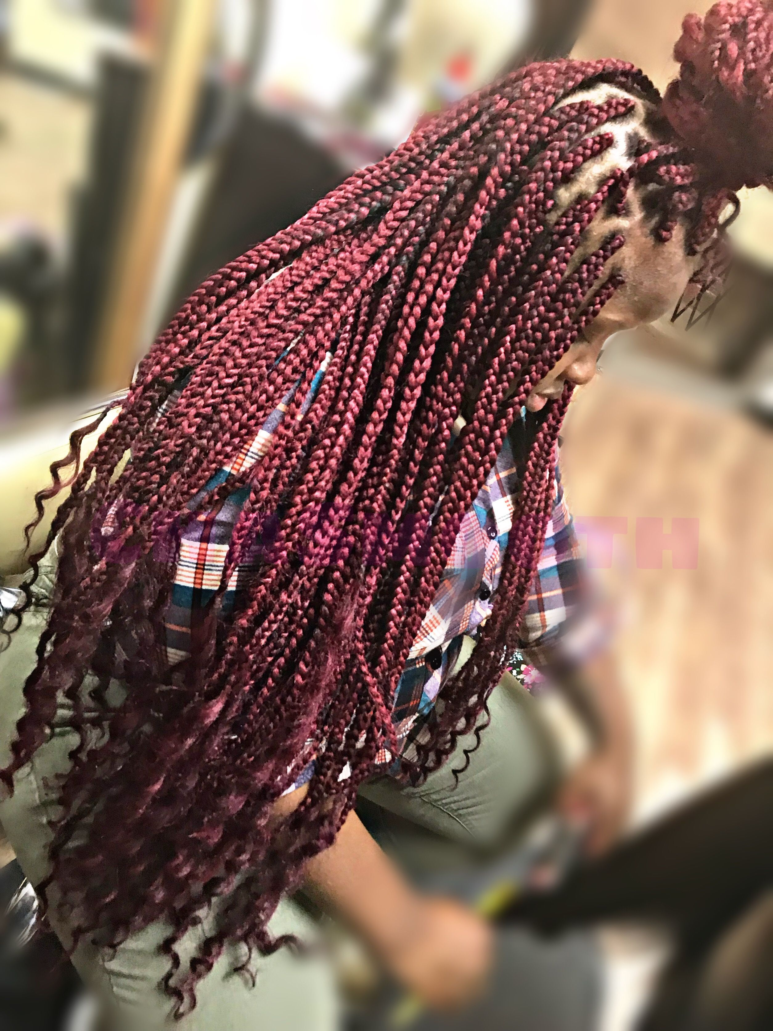 How To Box Braids Tutorial And Styles Box Braids Guide