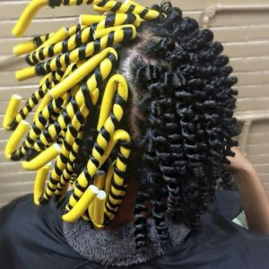 How To Use Flexi Rods On Transitioning Hair