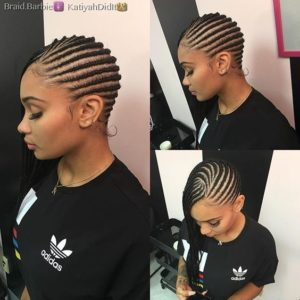 Super thin Lemonade Braids