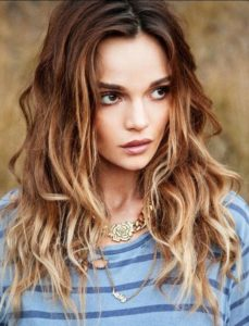 Textured Beachy Waves