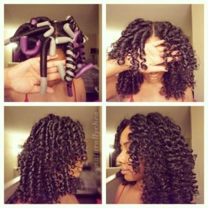 Twist and roll flexi rods