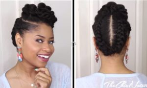 easy Natural UpDo
