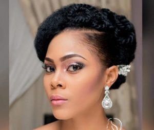 elegant updo natural hair