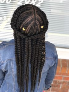 jumbo Feed in braids
