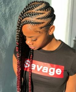 stitch Lemonade Braids