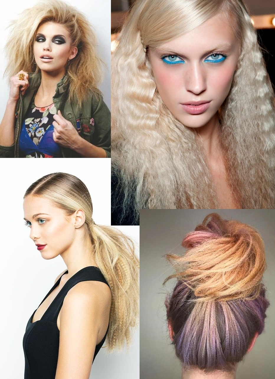 Crimped Hair Trend | How To Crimp Hair Hairstyles - Hair Beauty