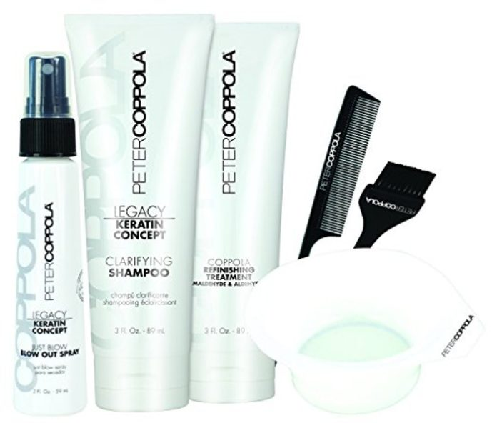 PETER COPPOLA Keratin Smoothing Treatment  Kit