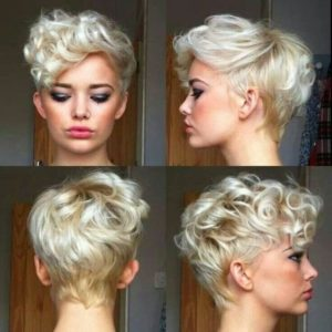 Modern Pin Curled Pixie