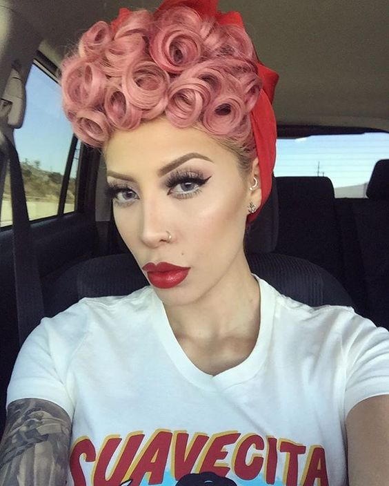 Pin Curl Short Hair Tutorial And Styling Ideas