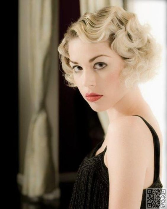 Pin Curls For Short Hair Pin Curls And Finger Waves