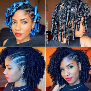 braided flexi rods
