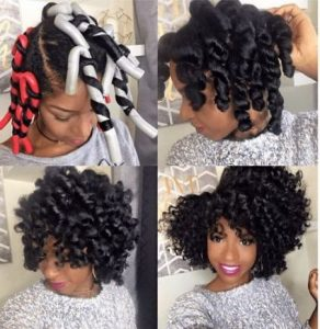high volume flexi curls