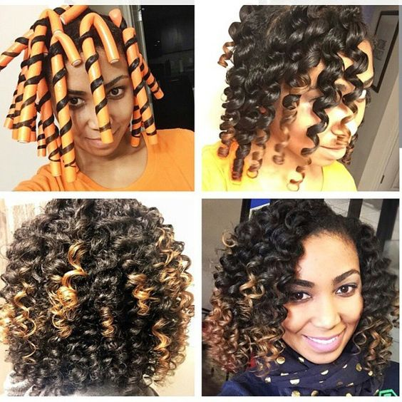 Fantastic How To Use Flexi Rods On Natural Hair Natural Hairstyles Runnerswayorg