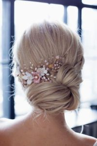 Simple and Elegant Low Side Chignon