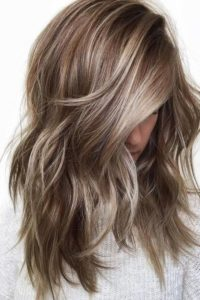 Ashy Base with Delicate Caramel Highlights