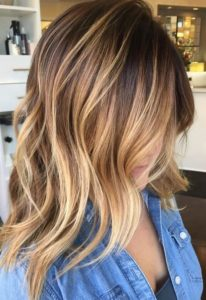 Chocolate Base with Sunkissed Highlights