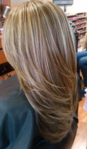 Caramel and Champagne Highlights