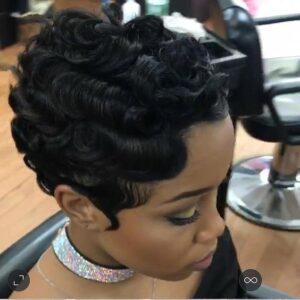 Gorgeous short curls