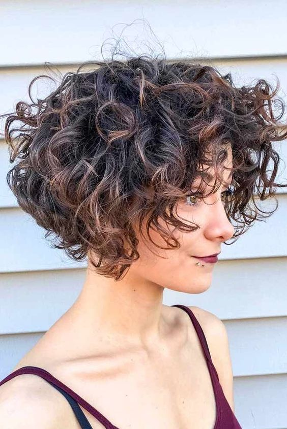 Layered Curly Hair | Short and Long Layered Curly Hairstyles