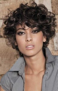 Cropped Curly Style