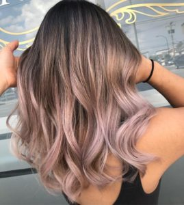 White Chocolate Lilac Look
