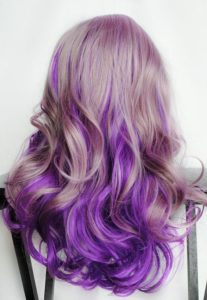 Lilac to Lavender Ombre