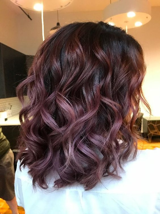 Lilac Hair Color Looks