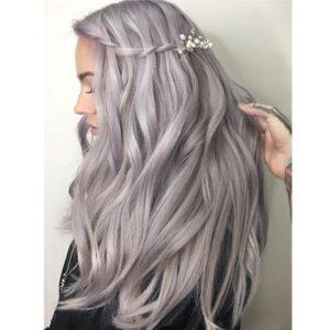 Silvery Lilac Locks