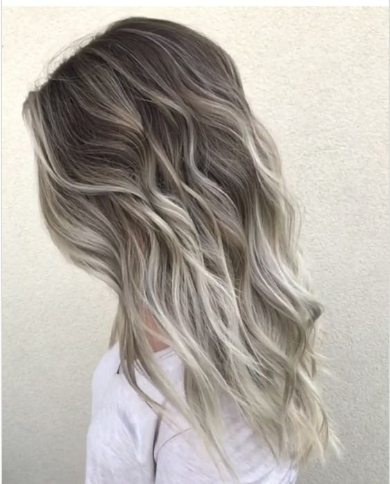 Toasted Coconut Hair Color Looks