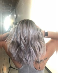 Silvery Toasted Coconut Lob