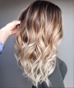 Toasted Coconut Ombre