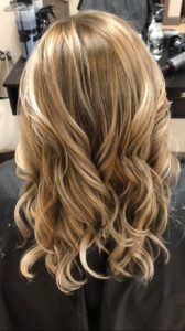 Caramel Base and Curls