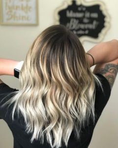 Lob with Beachy Waves