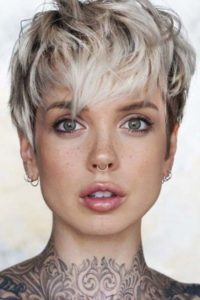 Textured Pixie Crop with Wispy Bangs
