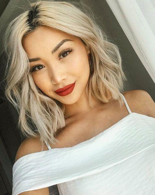 Blonde lesbian and asian slutload