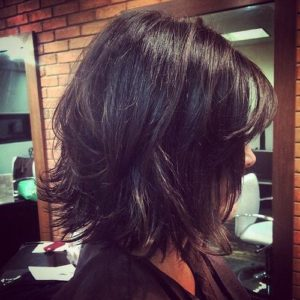 messy bob for women over 40