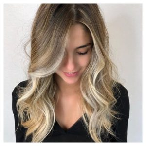 Long Layered Style with Face-Framing Layers