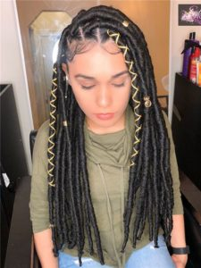 80 Long And Short Faux Locs Styles