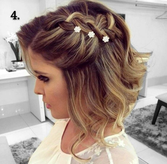 Braid Hairstyles For Wedding Party: 35 Braided Wedding Hairstyles