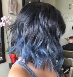 Blue Steel Ombre